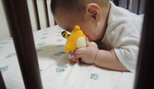 生後5か月~6か月の息子の様子。
