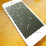 iPhoneの画面が割れた。ただただ煩わしい。
