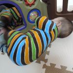 生後7か月~8か月の子どもの記録。