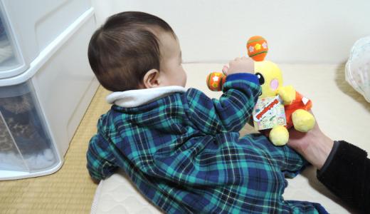生後8か月~9か月の子どもの記録。