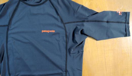 子どもと一緒に参加するベビー水泳教室用に「PATAGONIA MEN'S RØ TOP」を買った。
