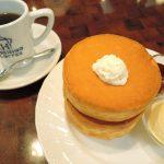 星乃珈琲店でスフレパンケーキを食べました。