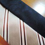阪急メンズ館でセール開催中だったのでネクタイを2本買った。