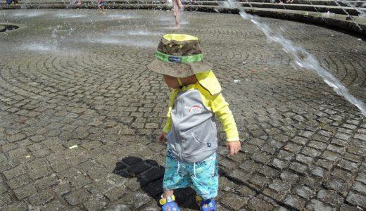 花博記念公園鶴見緑地で水浴びしてきた。