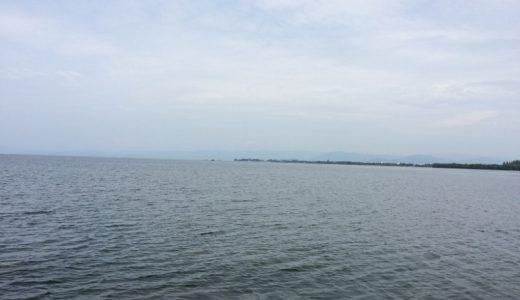 旅行で滋賀県長浜市に行きました。宿泊先は長浜ロイヤルホテル。びわ湖バレイは夏も楽しい。