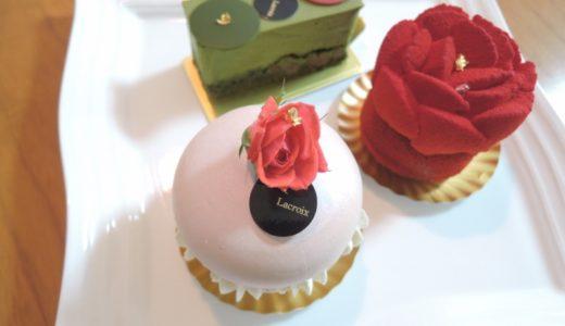 「PATISSERIE LACROIX(パティスリー ラクロワ)」のケーキを食べた。