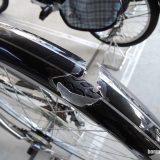 自転車のフェンダーが壊れた!損害保険で補償される?